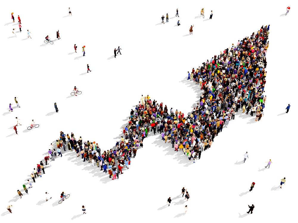 Crowdinvesting - Die Crowd folgt einem gemeinsamen Ziel
