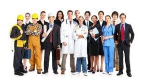 Mögliche Kunden für eine Gewerbeversicherung