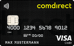 comdirect bank - Visa-Karte